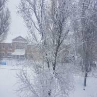Зима пришла в пгт Мирное! Февраль 2020 г.