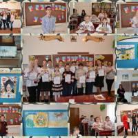 У Мирненській школі відзначили день Соборності України.