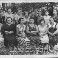 Терапевтичне відділення Михайлівської Міжрайлікарні серпень 1963 р.