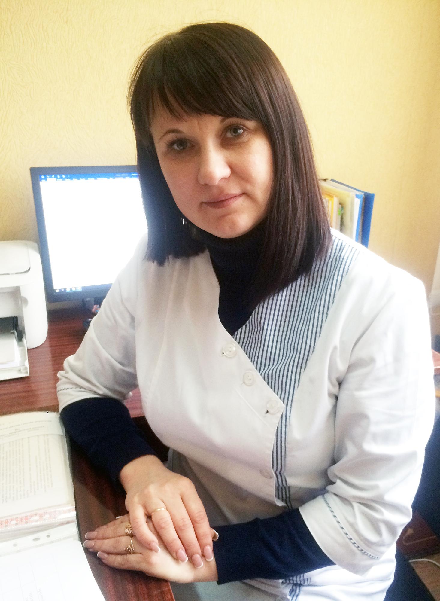 Грушак Олена Миколаївна, головна медична сестра