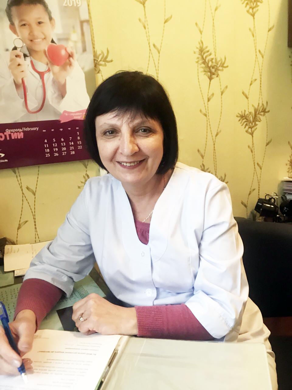 Назаренко Надія Ананівна, завідувач терапевтичного відділення