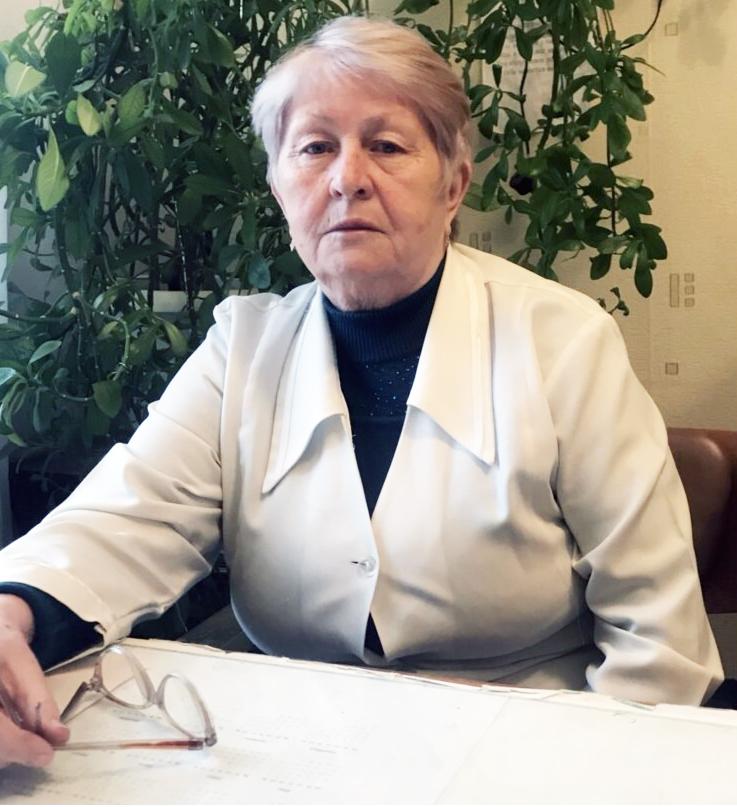 Грищук Валентина Іванівна, завідувач інформаційно аналітичного відділу