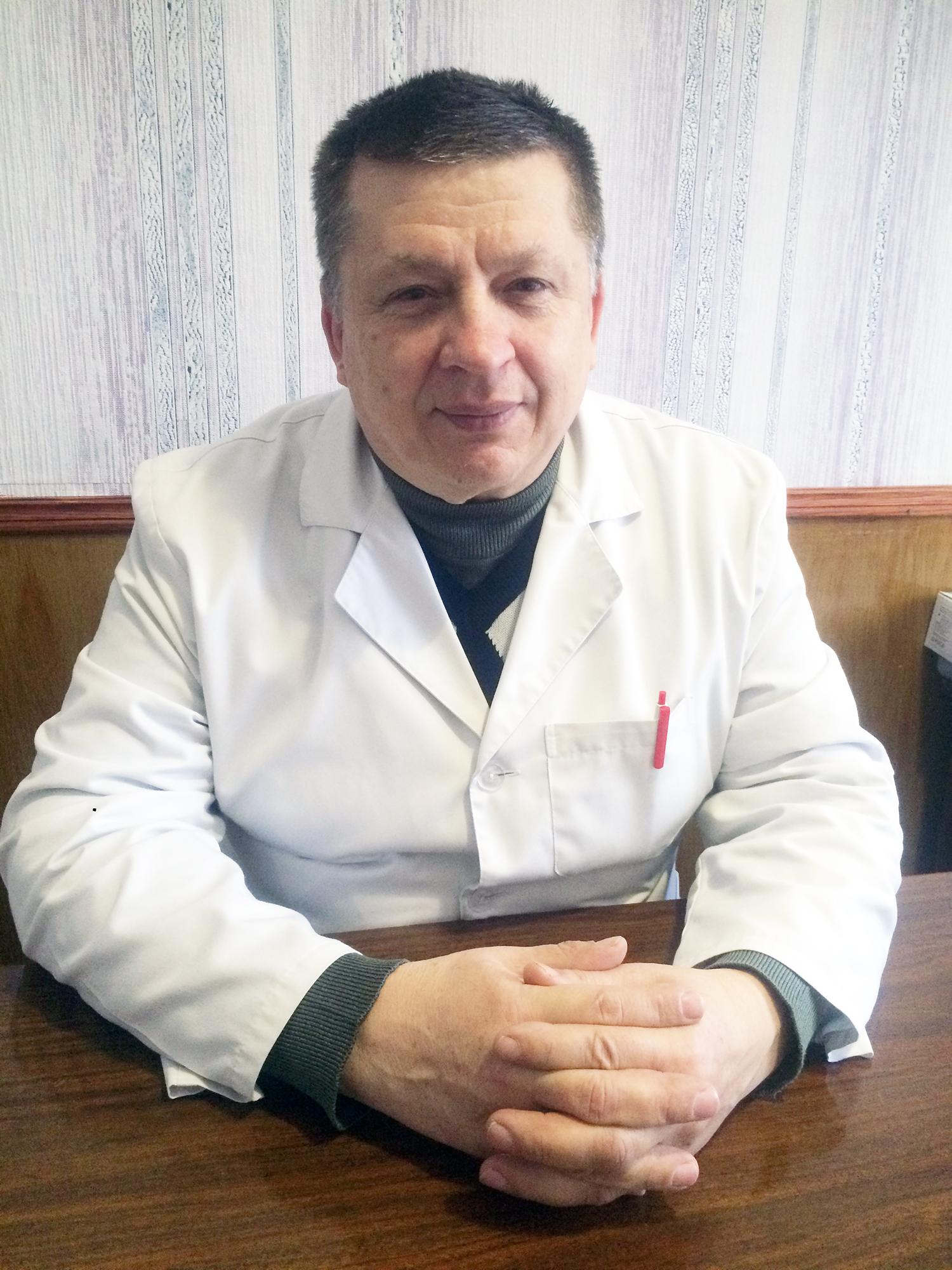 Назаренко Олег Станіславович, завідувач фізіотерапевтичного відділення
