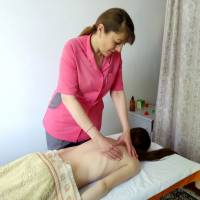 Кабінет лікувального масажу медична сестра Брильовська Марина