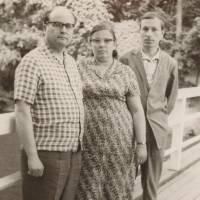 1965 рік Дикий М.В. - головний лікар Драбівської ЦРЛ, Морозова Н.В., - заслужений лікар України Сокрута В.Є.
