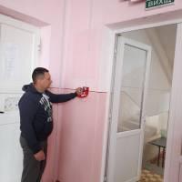 Встановлення пожежної сигналізації в Товстенській ЗОШ 1-3 ступенів