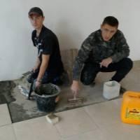Закріплення практичних навиків з укладання керамічної плитки бригадним методом