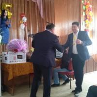 Привітання сільським головою Сартанської селищної ради