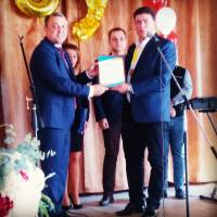 Нагородження грамотою директора ліцею секретарем Маріупольської міської ради