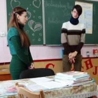Відкритий урок іноземної мови