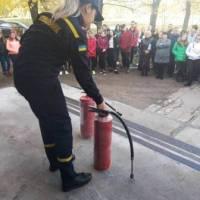 відпрацювання користування вогнигасником