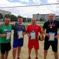 Переможці змагань з пляжного волейболу