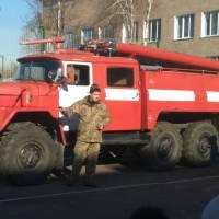 Зустріч з пожежниками в/ч А1815