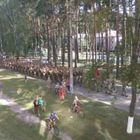 Урочиста святкова хода військовослужбовців 1 окремої танкової Сіверської бригади в День Незалежності України