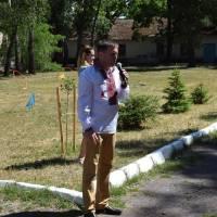 Виступ селищного голови Віталія Рудника