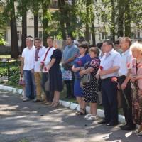 Урочистості з нагоди 65-річниці Гончарівського