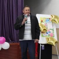 Вітальне слово в.о. старости с.Жеведь Сергія Рябуса