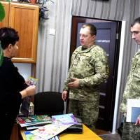 офіцери цивільно-військового співробітництва ОК «Північ» у День Сухопутних військ відвідали Гончарівську гімназію