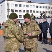 Урочистості з нагоди повернення військовослужбовців 1 окремої танкової Сіверської бригади