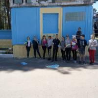 В'їзд до центру Гончарівської громади став патріотичним