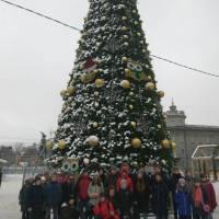 Біля Новорічної красуні улюбленого Чернігова