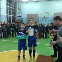Нагородження переможців змагань на першість Сновської ДЮСШ з міні-футболу