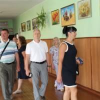 Гості гончарівської гімназії