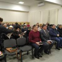 Збори уповноважених представників Гончарівської територіальної громади