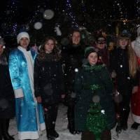 Відкриття головної ялинки Гончарівської територіальної громади