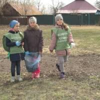 Екологічна бригада працює в с. Смолин