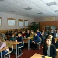 Зустріч Гончарівського селищного голови Віталія Рудника з випускниками гімназії