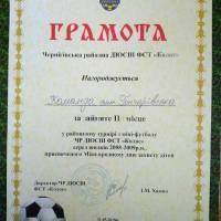 Перемога у турнірі з міні-футболу команди юнаків смт. Гончарівське