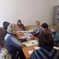 робоча нарада у відділі освіти Гончарівської ОТГ