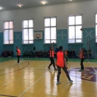 Районні змагання з волейболу серед жінок 02.03.2018