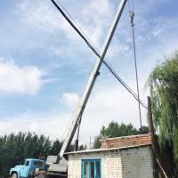 Заміна насосного обладнання на одній зі свердловин у районі Валів