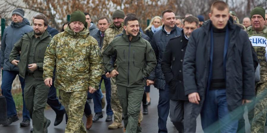 Президент відкрив міст у Станиці Луганській