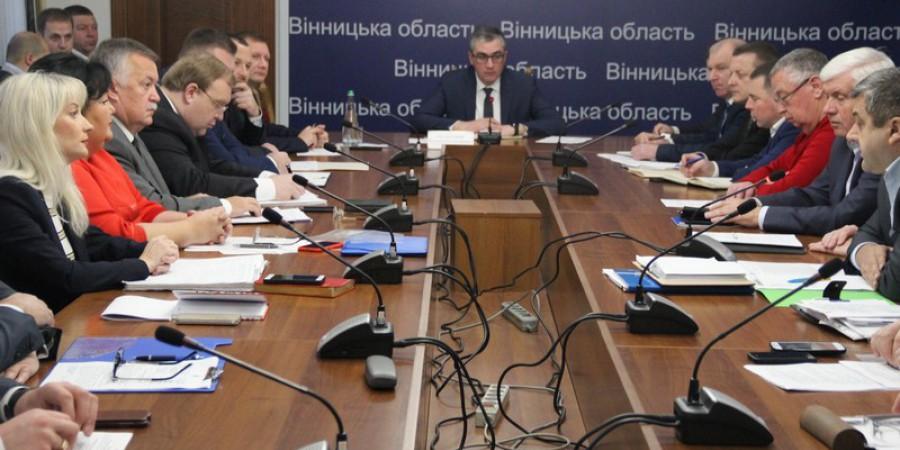 Владислав Скальський провів щотижневу нараду з керівниками структурних підрозділів облдержадміністрації