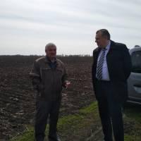 Голова райдержадміністрації відвідав приватну агрофірму «Колос» та селянське фермерське господарство «Обрій»