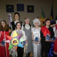 Учні Часовоярської ЗОШ № 17 привітали працівників РДА з різдвом