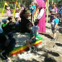 Відкриття  дитячого  майданчика в с. Різниківка