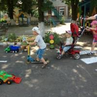Тиждень безпеки дорожнього руху в ДНЗ №1 «Сонечко»