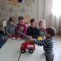 День пожежної охорони - ДНЗ «Світлячок»