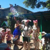 «Шоу мильних бульбашок» - ДНЗ №1 «Сонечко»