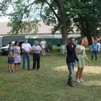 Відкриття спортивного майданчика в м.Сіверськ