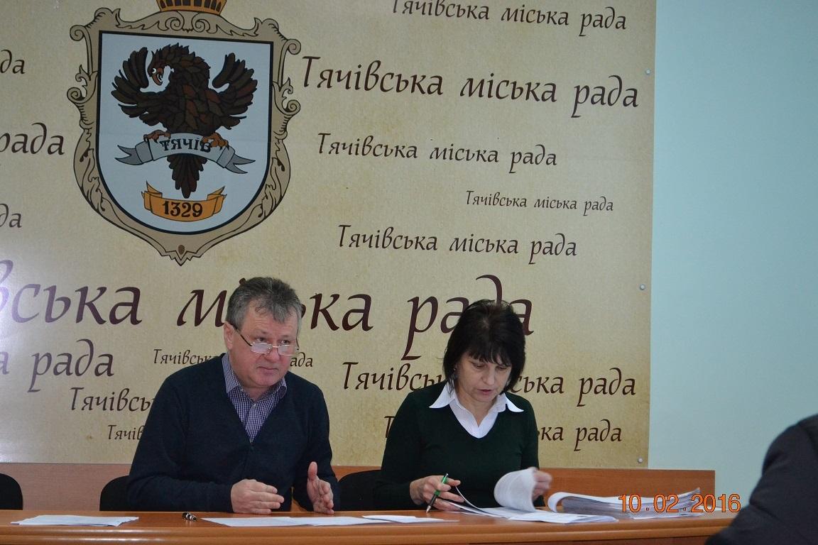 Міськии? голова Ковач І.І. та секретар виконкому (керуюча справами) Решетар О.В.