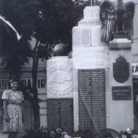 Пам'ятник загиблим тячівцям у світових війнах (старий)