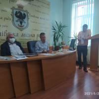 26.05.2021 обговорення проєктів рішень всіма депутатськими комісіями