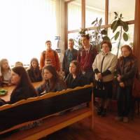 Під час екскурсії у приміщенні інспекції учні відвідали Центр обслуговування платників