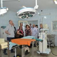 Гості в операційному блоці Тячівської РЛ №1