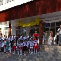 Привітання учнів від старости села Руське Поле